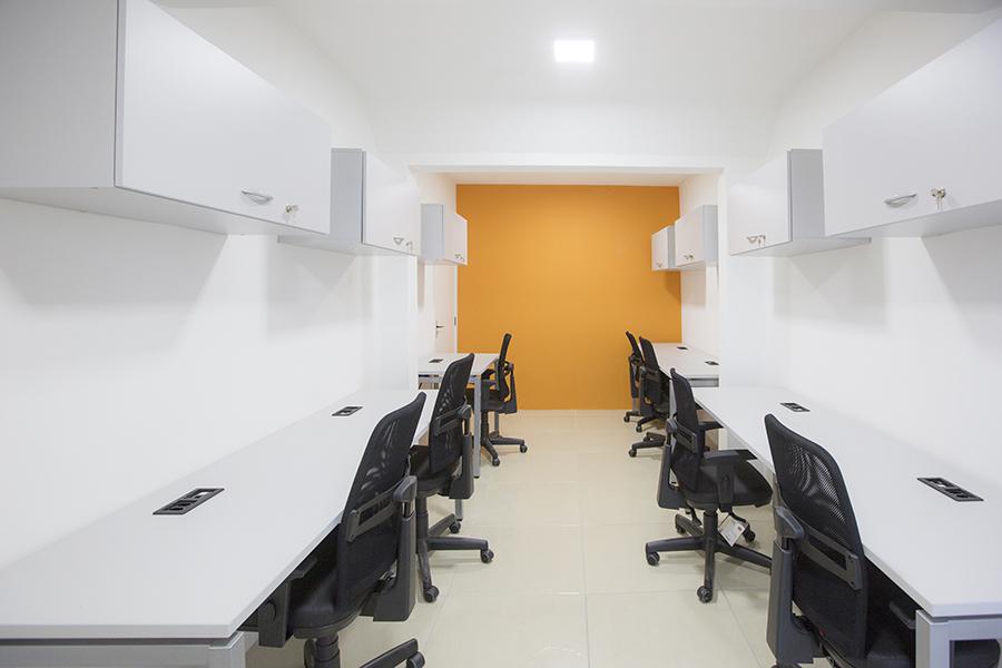 Escritório compartilhado ou sala privativa?